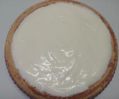 Crema Chantilly Aromatizzata al Limone con panna senza montata
