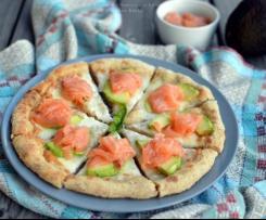 Pizza Salmone e Avocado - CONTEST CENA DAVANTI ALLA TV