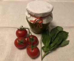 """Pesto estivo veloce ai fiori di zucchine, parmigiano e pinoli """"CONTEST PESTO E CONDIMENTO"""""""