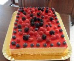 """Torta """"Delizia ai frutti di bosco"""""""