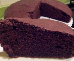 Torta soffice al cacao senza glutine