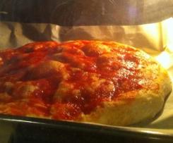 Pizza Enrica (con esubero di pm)