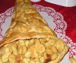 Cornucopia con pasta di pane