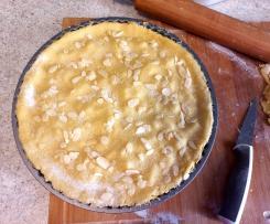 Crostata con crema Bimby e mele insaporite (TM6)
