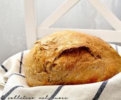 Pane casereccio con pasta di riporto