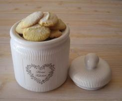 Biscotti Danesi al Cocco (Danish Butter Cookies)