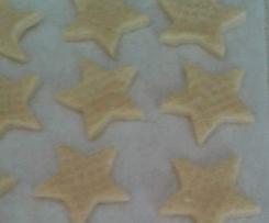 Stelle friabili al burro (biscotti)