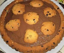Torta cookies morbida