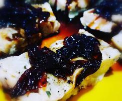 Merluzzo con composta di cipolle di tropea