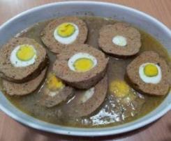 Polpettone Diet con Le Uova Sode - Bimby TM31
