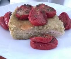 tortino di zucchine e patate ripieno (cottura in forno)