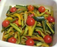 Misto di verdure in carpione