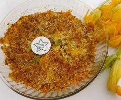 Bocconcini di fiori di zucca gratinati al limone CONTEST APERITIVO