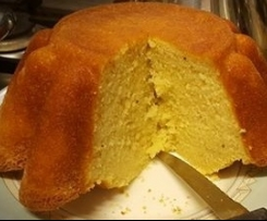 cake al limoncello