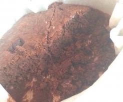 torta senza glutine, senza uova e senza lattosio al cioccolato