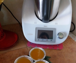 Budino all' arancia e mandarini
