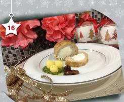 Polpettone di coniglio e caprini con patate e olive taggiasche - Natale