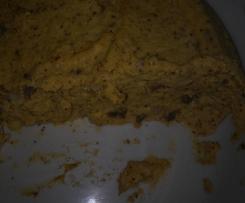 polenta di storo con salsiccia fontina