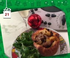 Pingiadeddas de pezza ( pentoline di carne) - Natale