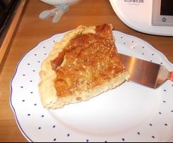Crostata ricotta, nocciole e arancia