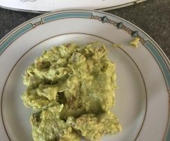 Scaloppine alla crema di asparagi