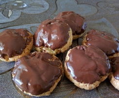 Dolcetti al cocco e cioccolato senza lattosio