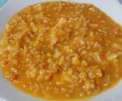Zuppa di farro cavolfiore e zucca