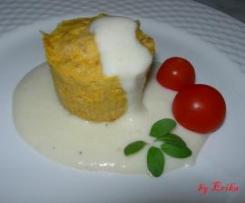 Tortino di Jamòn Serrano con salsa di patate - Team GIAI VIA - Divisione SABAUDIA