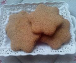 Biscotti integrali al malto e miele
