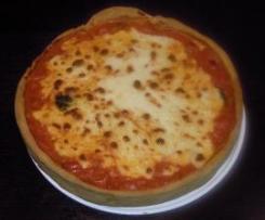 FINTA PIZZA (TORTA SALATA AI POMODORINI)
