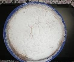 Torta con crema moka