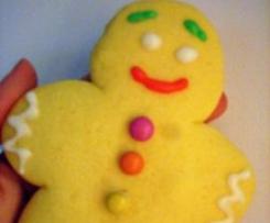 Biscotti Zin zin (omini non di marzapane)