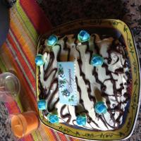 Follia ai tre cioccolati con il mitico pan di Spagna di rosa47