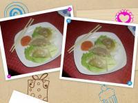 ravioli cinesi e salsa agrodolce